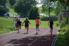 Otevření atletické dráhy 12. června