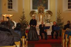 Novoroční koncert v kapli Nejsvětější Trojice 2. 1. 2019