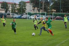 Fotbalové utkání sever/jih 30.6.2018