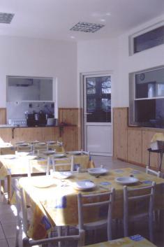Opravená jídelna MŠ